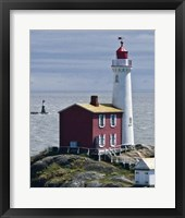 Framed Fisgard Lighthouse