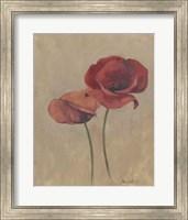 Framed Blooms & Stems II