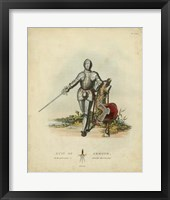 Framed Men in Armour I