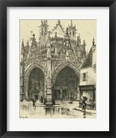 Framed Ornate Facade I