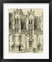 Ornate Facade II Framed Print
