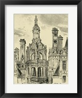 Ornate Facade III Framed Print
