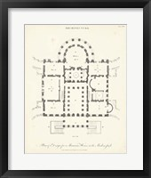 Framed Plan for a Mansion