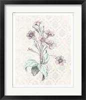 Framed Victorian Blooms IV