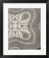 Framed Vintage Lace IV