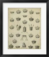 Framed Heraldic Crowns & Coronets II