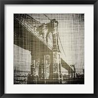 Framed Bridges of New York I