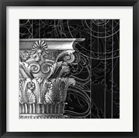 Framed Graphic Cornice II