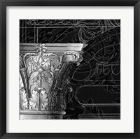 Framed Graphic Cornice IV