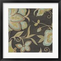 Heirloom Floral II Framed Print