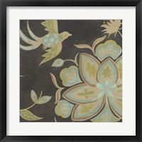 Heirloom Floral III Framed Print