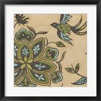 Heirloom Floral IV Framed Print