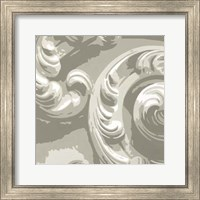 Framed Decorative Relief II