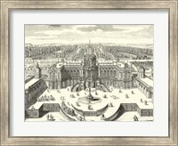 Framed Fountains of Versailles II