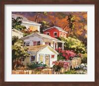 Framed Beach Cottage Community