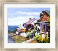 Framed Village Gem