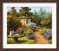 Framed Woodland Garden