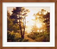 Framed Gilded Pathway