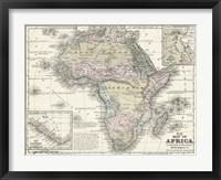 Framed Map of Africa