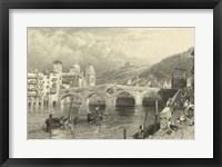 Framed Vintage Verona