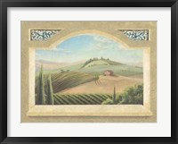 Framed Vineyard Window III