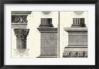 Framed Cornice Tempio di Vesta