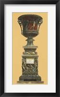 Framed Vase et Piedestal II
