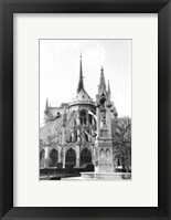 Framed Notre Dame Cathedral III