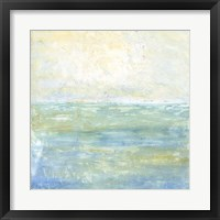 Framed Tranquil Coast I