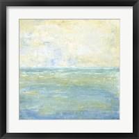 Framed Tranquil Coast II