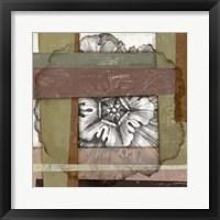 Framed Woven Rosette II
