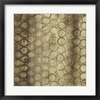 Circular Imprint I Framed Print