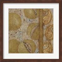 Framed Gilded Sari IV