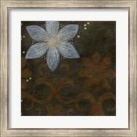 Framed Burnished Brocade II