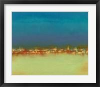 Framed Harbor Light III