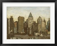 Framed City & Sky I