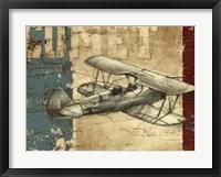 Framed Vintage Aircraft I