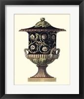 Framed Clementino Urn III