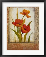 Tulip Inset II Framed Print