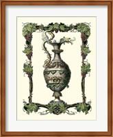 Framed Wine Vessel I