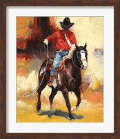 Framed Rodeo Style