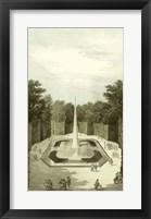 Garden at Versailles IV Framed Print