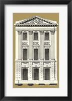 Framed Grand Facade III