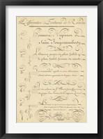 Framed Alphabet Sampler III