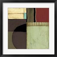 Framed Loft Abstract II