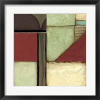 Framed Loft Abstract III