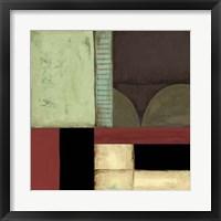 Framed Loft Abstract IV