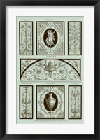 Framed Panel in Celadon I