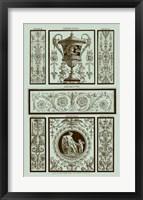 Framed Panel in Celadon II