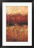 Framed Autumn Horizon I